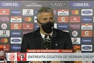 """Crespo elogia garotos, vê ótimo segundo tempo, mas lamenta empate: """"Merecíamos ganhar"""""""