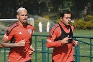 Luciano e Éder devem ser desfalques do São Paulo contra Flamengo