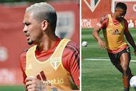 Luan e Luciano desfalcam o São Paulo contra o Vasco