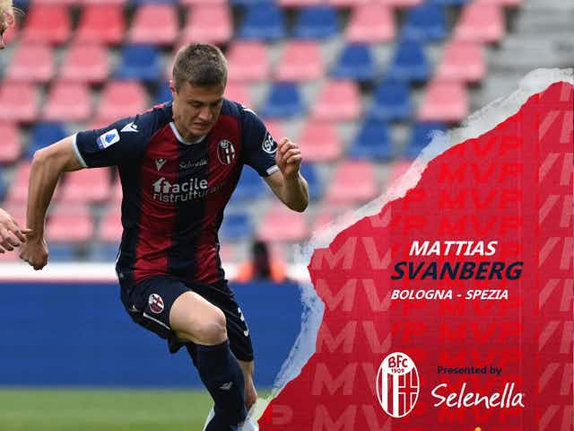 Svanberg the MVP from #BFCSpezia
