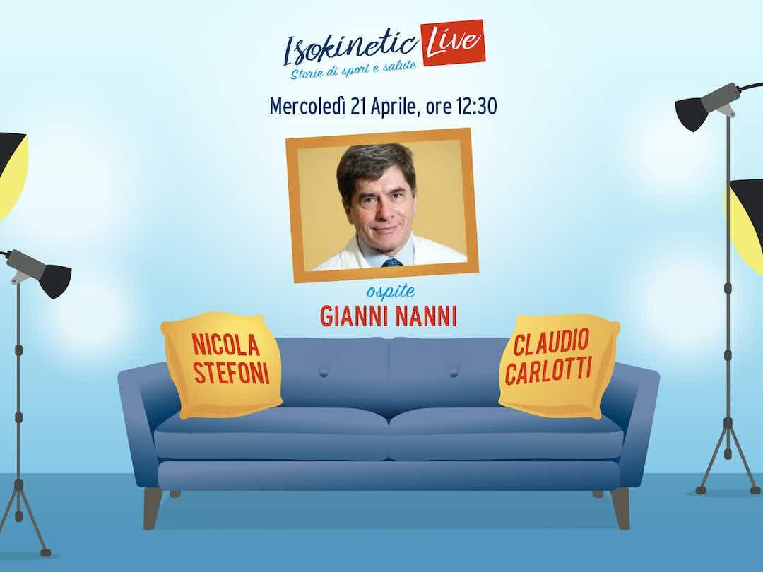 Il Dott. Gianni Nanni ospite a Isokinetic Live mercoledì ...