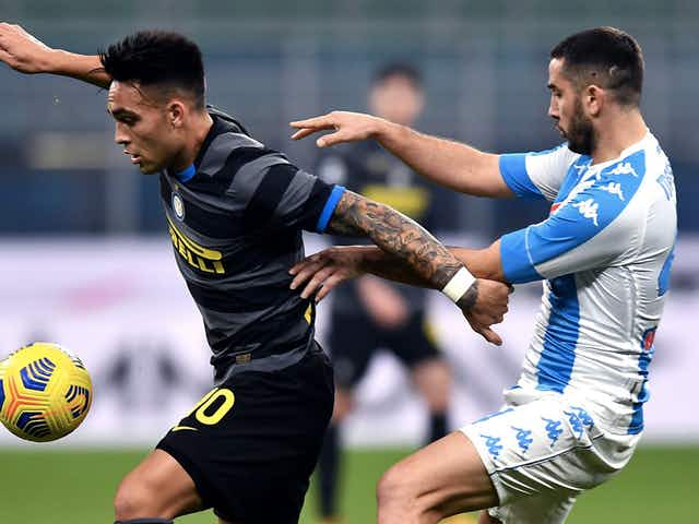 Napoli Inter, Lautaro nel tempio di Maradona. Azzurri a caccia della Champions