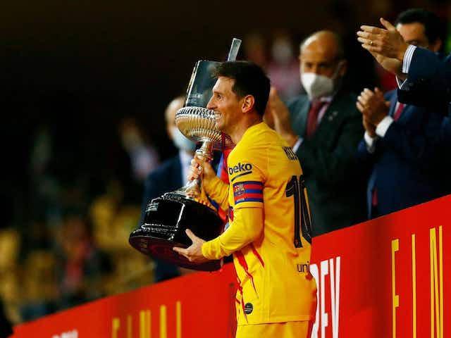 """Messi explotó de emoción y orgullo: """"Es muy especial ser capitán de este club"""""""