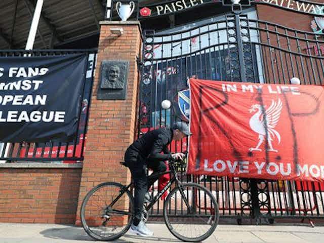 """Los jugadores del Liverpool, en contra: """"No nos gusta y no queremos que suceda"""""""