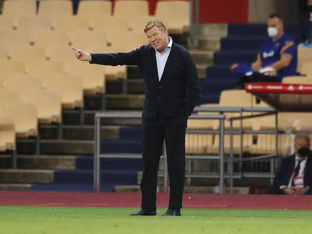 Koeman desvela cómo está Piqué y deja claro que el Barça solo piensa en LaLiga