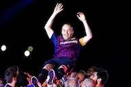 Iniesta, convencido de las opciones del Barça en la lucha por LaLiga