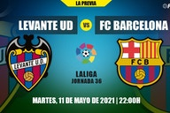 Todo lo que necesitas saber del Levante-FC Barcelona de LaLiga