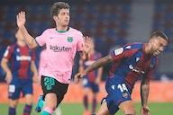OFICIAL: Recaída de un Sergi Roberto que no pudo terminar el partido