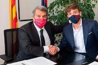 OFICIAL: Nico González renueva con el Barça hasta 2024