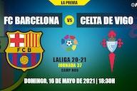 Todo lo que necesitas saber del FC Barcelona-Celta de Vigo de LaLiga