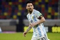 Messi, y un nuevo récord con la selección argentina en las eliminatorias