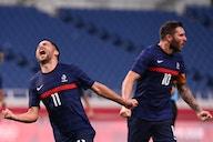 França vence sua primeira partida com três gols de Gignac