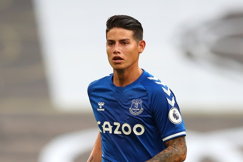 Banfield Claim James Rodriguez Joined Everton On A Free Transfer From Real Madrid Onefootball