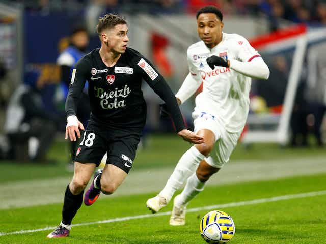 Leeds eyeing summer move for Stade Brest left-back Romain Perraud