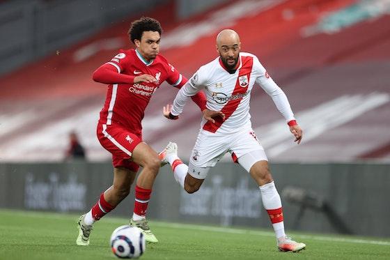 Article image: https://image-service.onefootball.com/crop/face?h=810&image=https%3A%2F%2Fwww.footballfancast.com%2Fwp-content%2Fuploads%2F2021%2F05%2FSouthampton-winger-Nathan-Redmond-Saints-Anfield-Ralph-Hasenhuttl-Liverpool-Reds-Jurgen-Klopp.jpg&q=25&w=1080