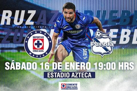 Imagen del artículo: https://image-service.onefootball.com/crop/face?h=810&image=https%3A%2F%2Fwww.futbolete.com%2Fwp-content%2Fuploads%2F2021%2F01%2FCruz-Azul-vs-Puebla.jpg&q=25&w=1080