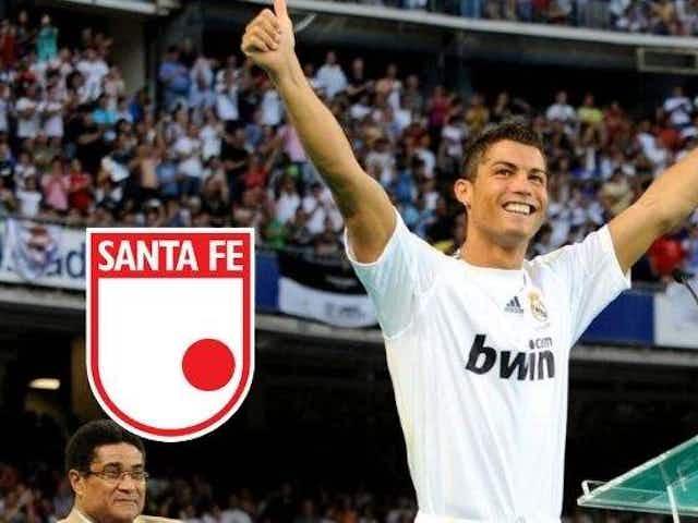 Santa Fe y lo que tuvo que ver en la llegada de Cristiano Ronaldo al Real Madrid