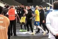 Miguel Borja: discusión en la cancha con Neymar y mensaje para los colombianos en Instagram