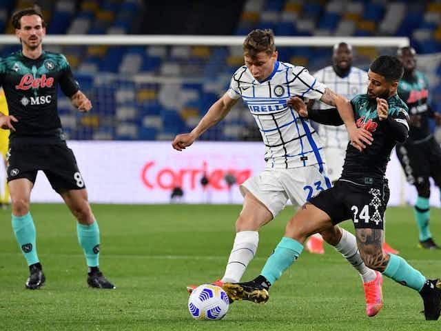 Inter rescató un punto en su visita a Napoli