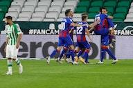 Betis igualó 1-1 ante Eibar y no pudo asegurar cupo en competencias europeas