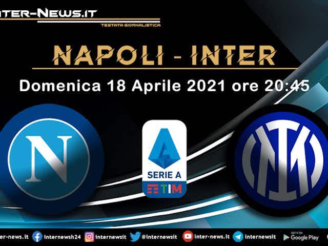 Napoli-Inter: tutti negativi i tamponi svolti nel club azzurro