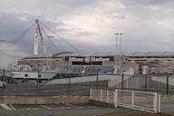 Allianz Stadium: i pullman di Juve e Milan arrivati all'impianto