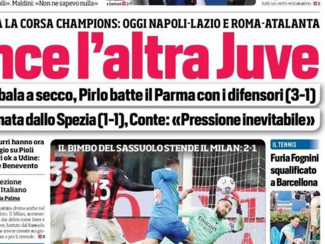 Rassegna stampa Juve: prime pagine quotidiani sportivi – 22 aprile 2021