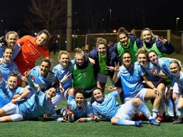 Lazio Women, vittoria fondamentale per la promozione: con l'Orobica è 3 0