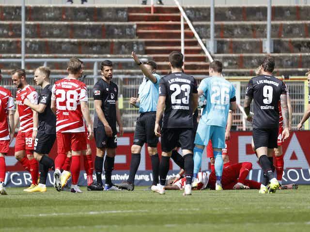 Würzburg: DFB bewertet ausbleibenden VAR-Eingriff als korrekt