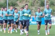 Schalke 04 mit Trainingsstart vor 500 Fans