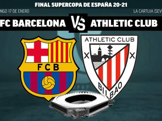 Final de la Copa del Rey: Las alineaciones oficiales del Barça y Athletic