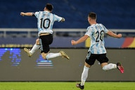 Argentina tampoco le alcanza a Messi para ganar (1-1)