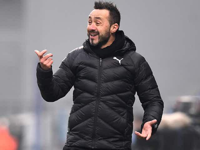De Zerbi: «Non voglio giocare con il Milan. Ha fatto un colpo di stato»