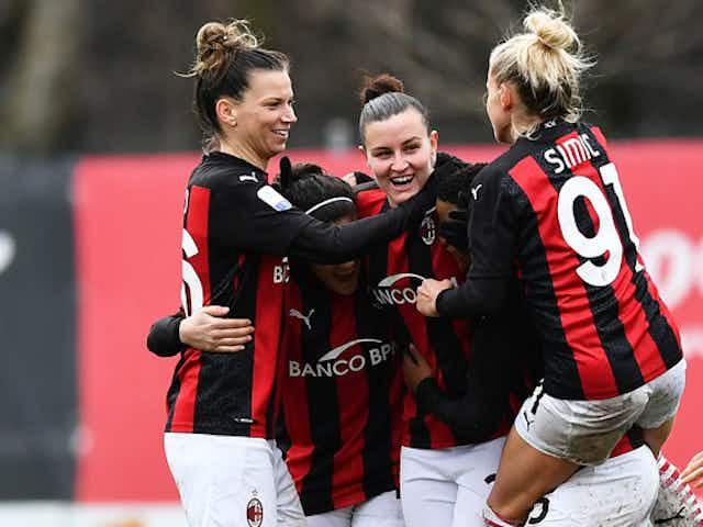 Milan femminile: buone notizie dal Vismara, recuperata una giocatrice