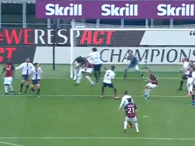 Milan-Genoa, l'autogol di Scamacca porta in vantaggio i rossoneri – VIDEO
