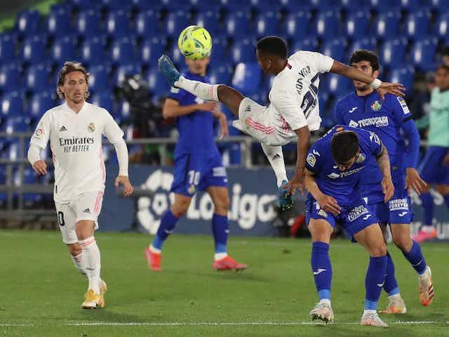 La Liga   Unentschieden zwischen Getafe und Real Madrid