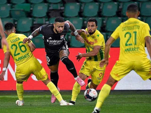 L'OL assure difficilement l'essentiel à Nantes (1-2)