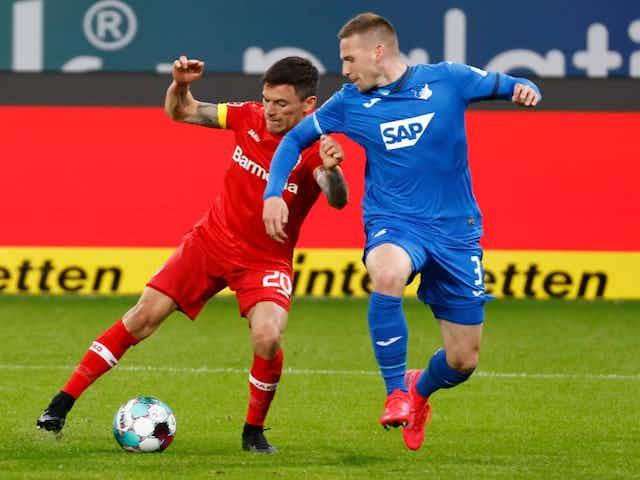 Con Aránguiz en cancha: Leverkusen empató con Hoffenheim