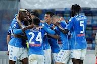 Napoli goleó a Udinese y sigue en la pelea por un cupo a Champions