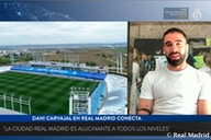 """Carvajal: """"I hope we can celebrate our second league title at the Di Stéfano"""""""