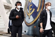 Real Madrid arrive in Bilbao