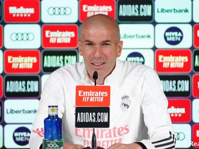 """Zidane: """"Cette équipe a beaucoup gagné mais en veut toujours plus"""""""