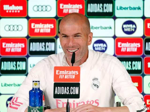 """Zidane: """"We like to compete and we won't let our heads drop now"""""""