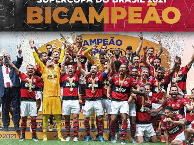 In a game with lots of drama, Flamengo edge Palmeiras in penalties to win the Brazil Super Cup