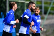 Spezia preparations continue, morning session on Tuesday