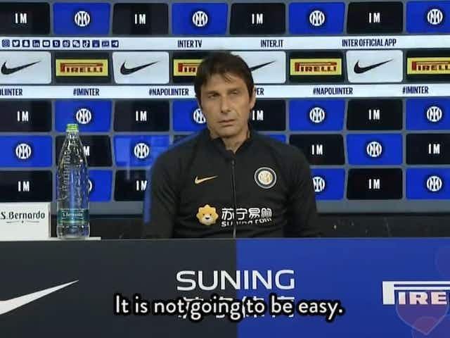 """Conte: """"Ho capito che sono io il problema. Non devono toccare l'Inter"""""""