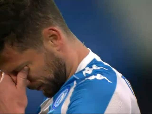 Perché Mertens ha pianto dopo il gol contro la Lazio
