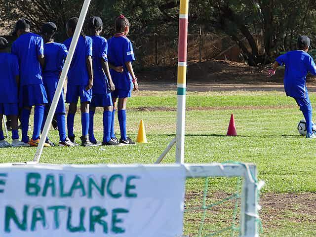 Fußball und Umwelt im Doppelpass